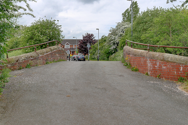 Canal Bridge on Hillfield Lane