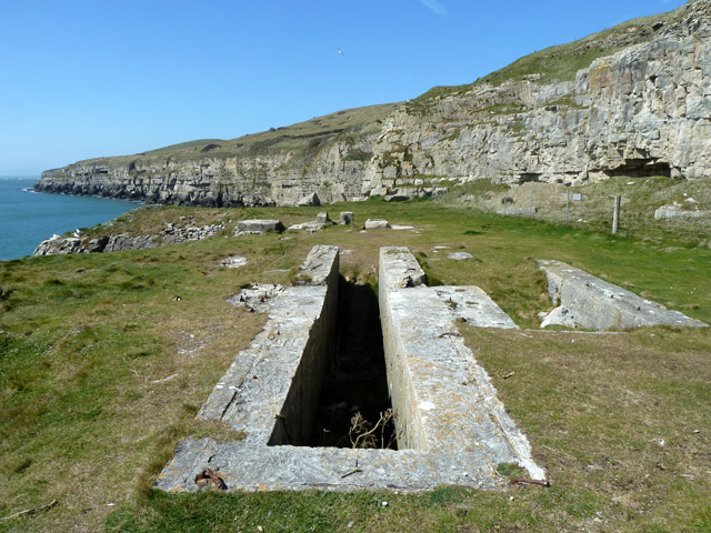 Remains of quarry plant, Seacombe Quarry