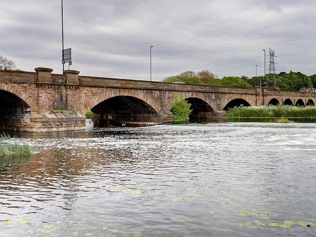 River Trent, Burton Bridge