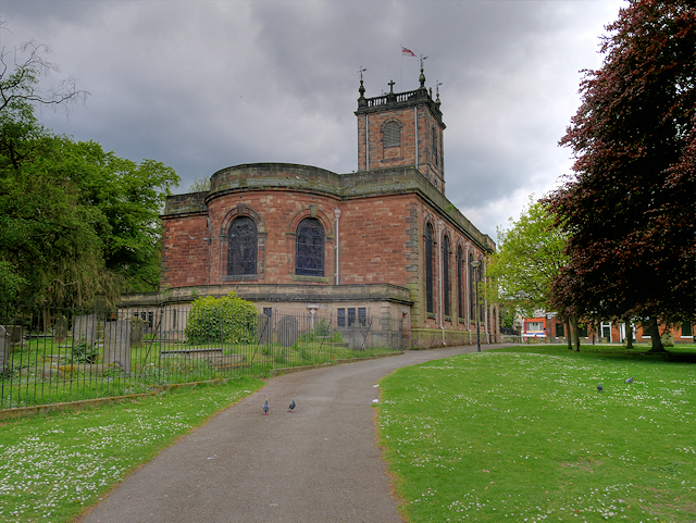St Modwen's Church, Burton on Trent