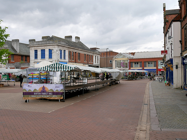 The Market Place, Burton on Trent