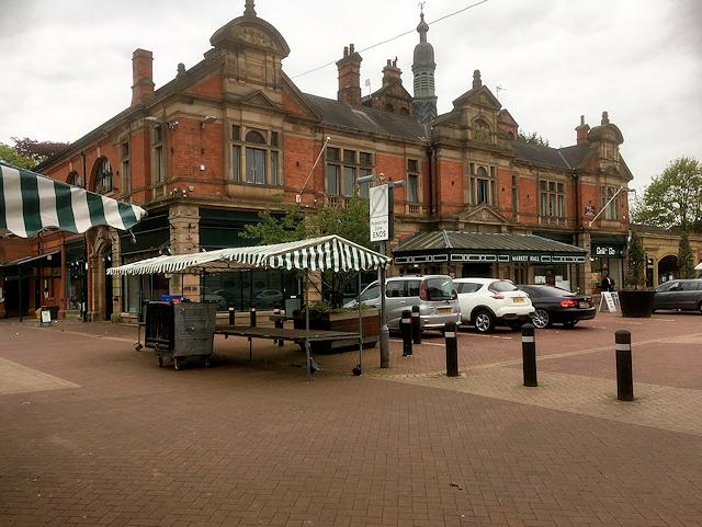 Burton on Trent Market Hall
