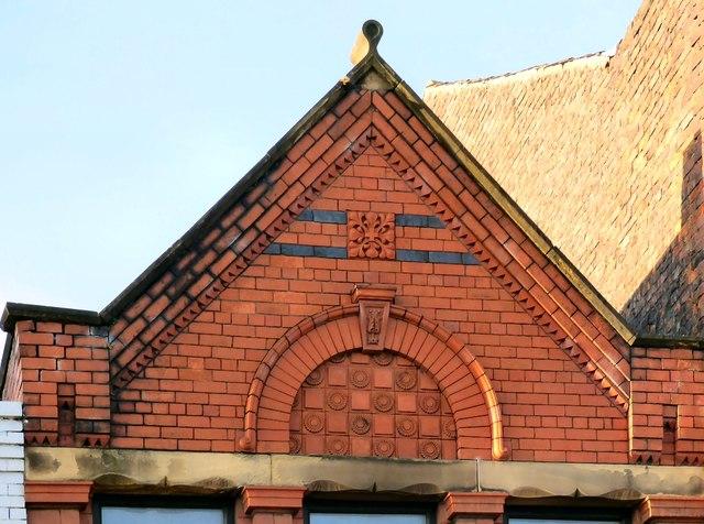 84 Market Street: architectural detail