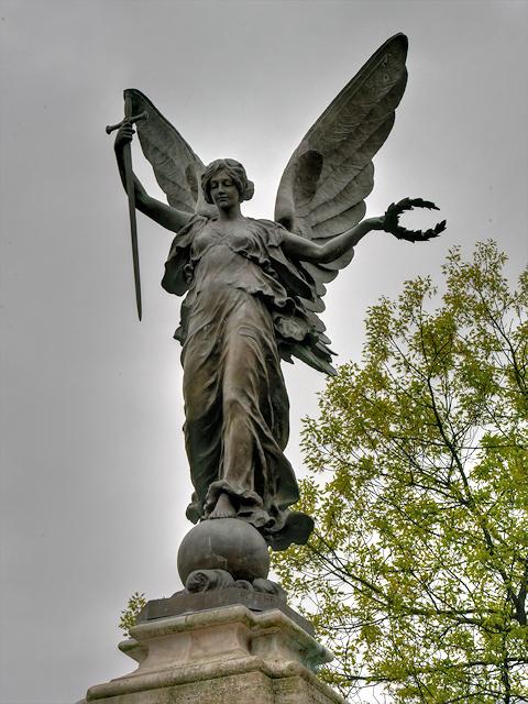 Victory, Burton on Trent War Memorial