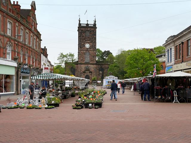 Market Square, Burton on Trent