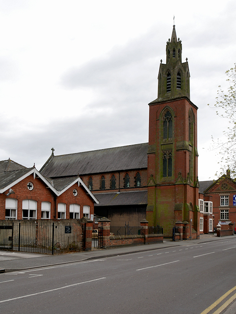 The Roman Catholic Church of St Mary and St Modwen