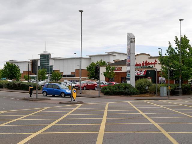 Middleway Retail Park, Burton on Trent