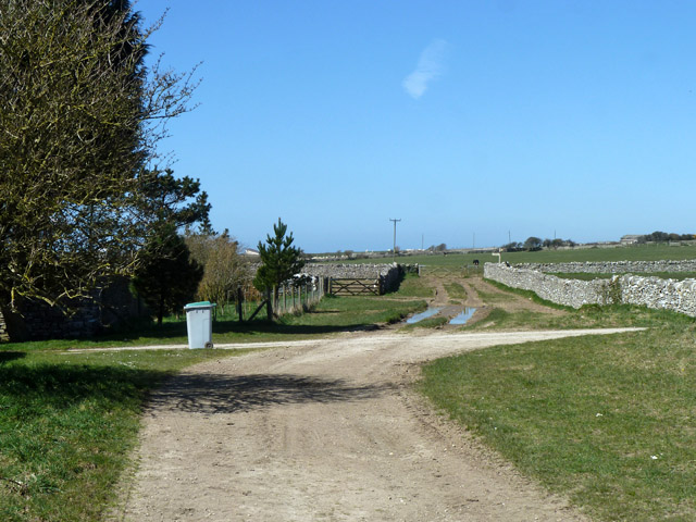 Priest's Way past Eastington Farm