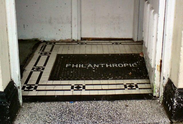 Philanthropic doormat