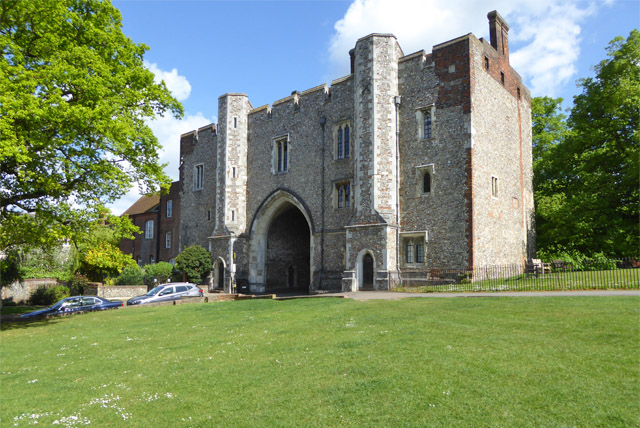 Former monastry gatehouse, St Albans