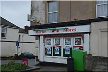 SX4555 : Morice Town Stores by N Chadwick