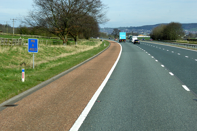 Northbound M6 in Cumbria