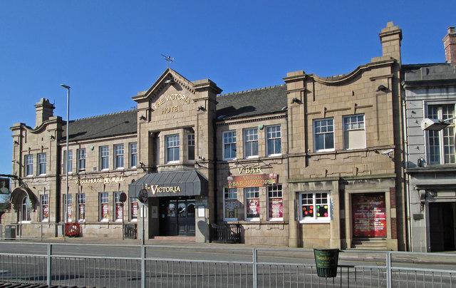 Mansfield - Albert Street - The Victoria Hotel