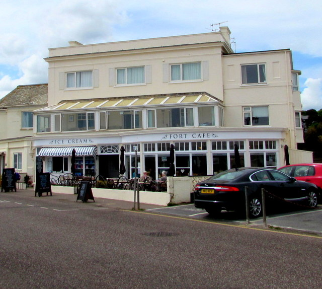 Fort cafe and restaurant, The Esplanade, Sidmouth