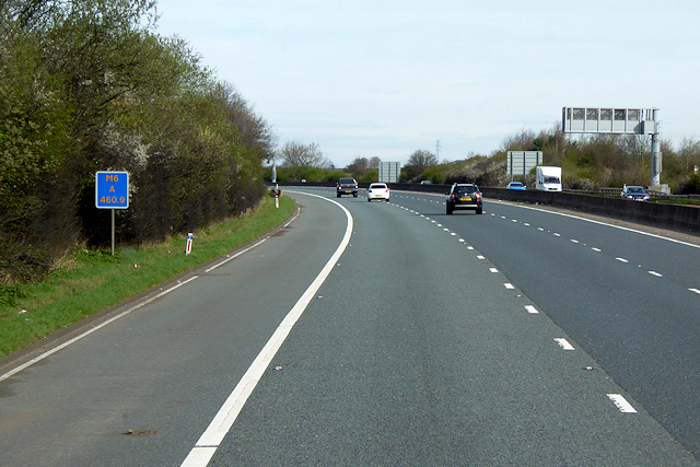 Northbound M6 near Penrith