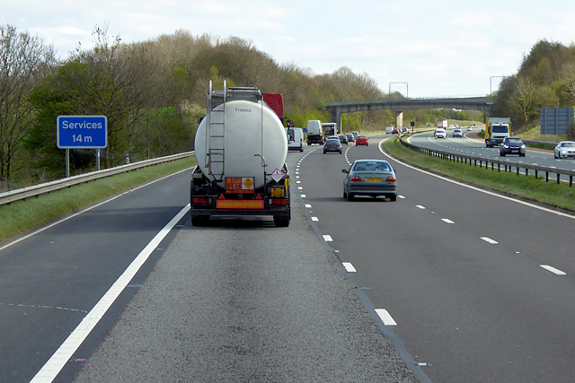 Southbound M6 near Clifton