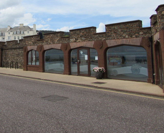 Arches Interpretation Centre, Sidmouth