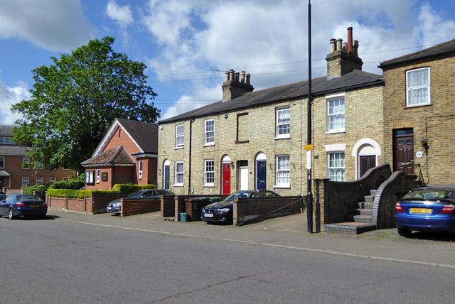 Houses on Lattimore Road, St Albans