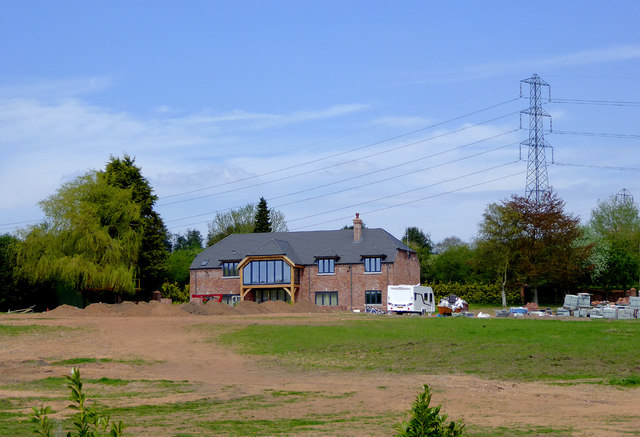 New house by Hinksford Lane near Swindon, Staffordshire