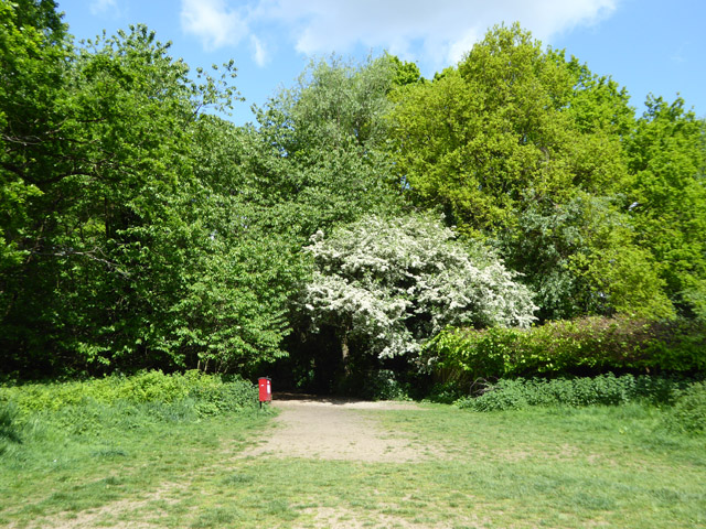 Path from recreation ground to Marshals Drive