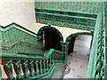 SJ8595 : Victoria Baths, Stairs to First Class Entrance Lobby by David Dixon