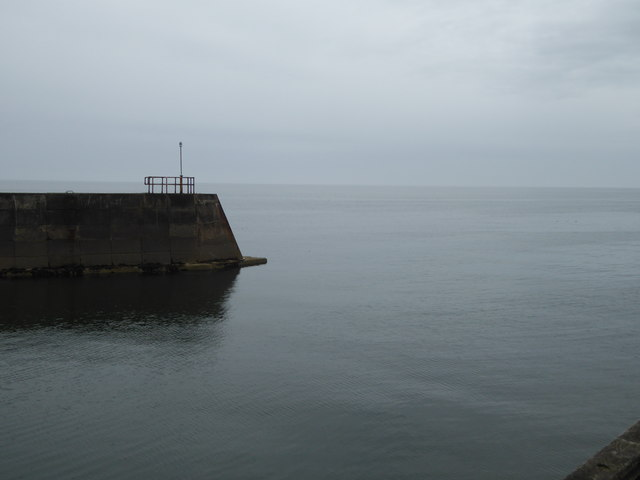 Outer Harbour breakwater, Gourdon