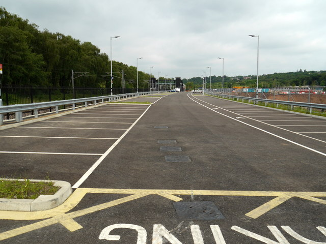 Car Park 2, Kirkstall Forge Station