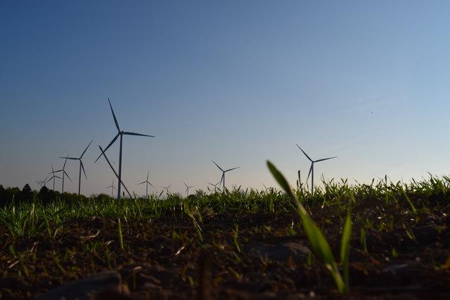 Mount Lucas Wind Farm Co. Offaly Ireland