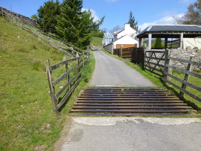 Cattle grid at Tunstall Ing