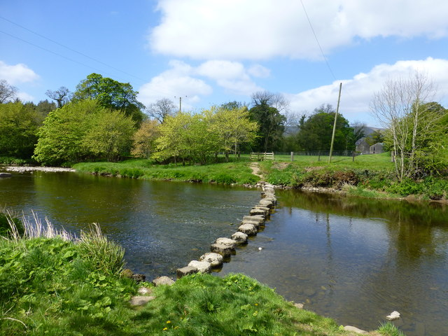 Stepping stones at Stakes