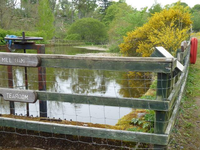 Mill dam sluice, Mill of Benholm