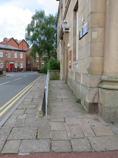 The entrance to Cheshire Military Museum