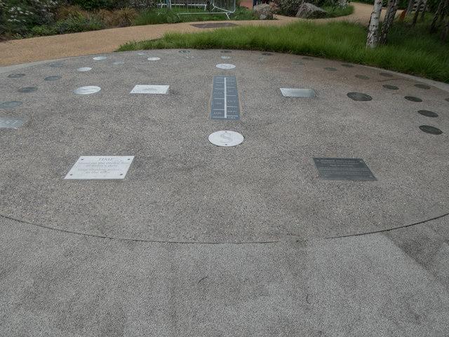Sundial - Olympic Park, Stratford