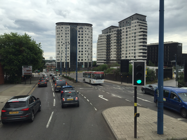 Flats at Masshouse Plaza and the Hotel LaTour, Birmingham