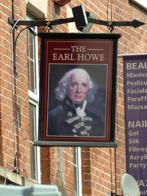 The Earl Howe, Inn sign