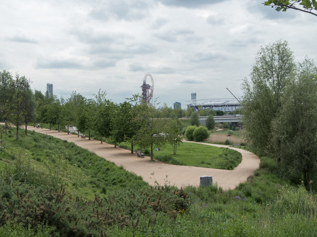 Pathway, Olympic Park, Stratford