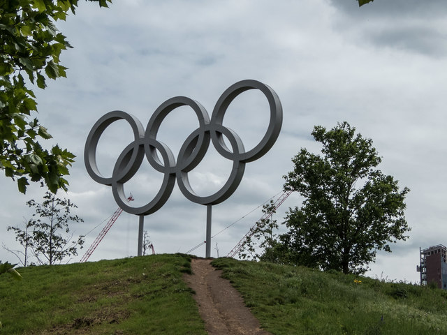 Olympic Rings, Olympic Park, Stratford