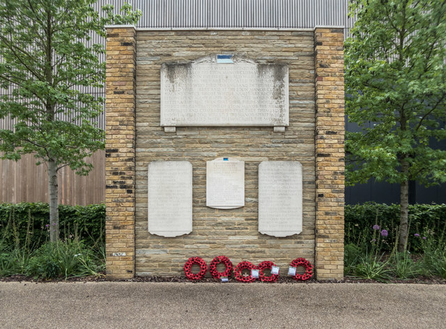 Eton Manor Club War Memorial, Olympic Park, Stratford
