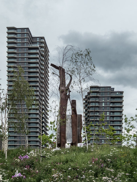 9/11 Memorial, Olympic Park, Stratford
