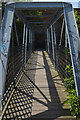 SE2734 : Footbridge across the River Aire : Week 21