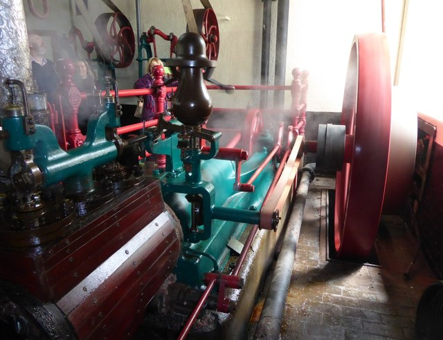 Hook Norton Brewery - Buxton & Thornley Steam Engine