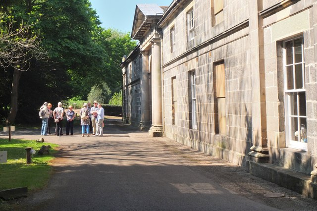 Stable block, Newhailes House