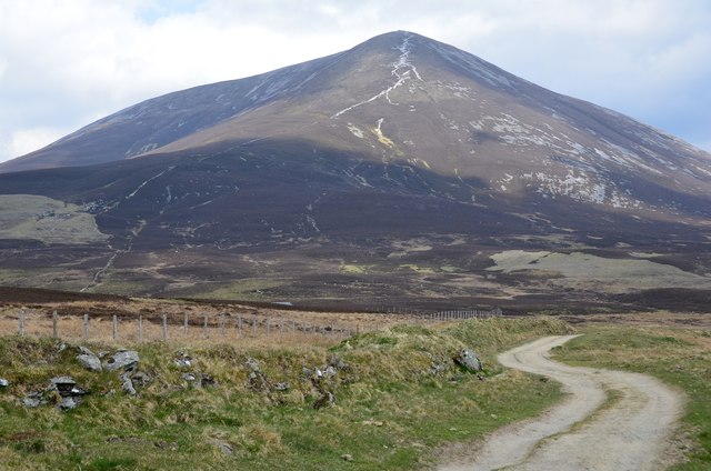 Hill track below Carn Liath