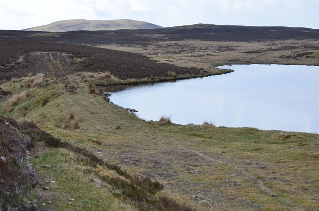 Unnamed lochan, east end