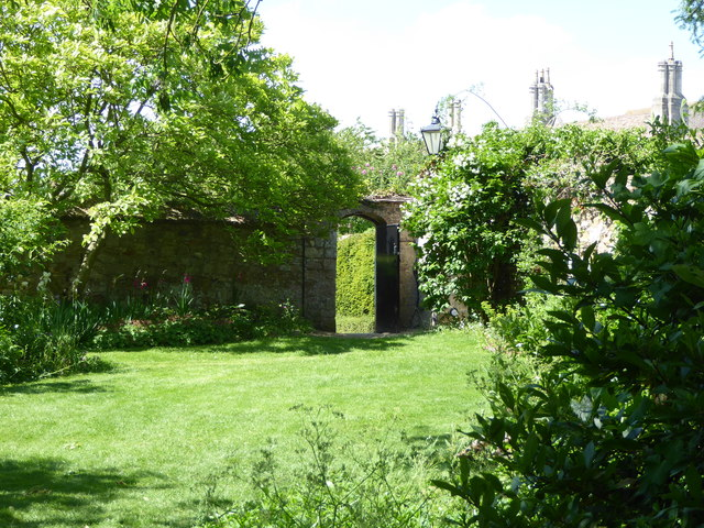 Garden behind the Almonry