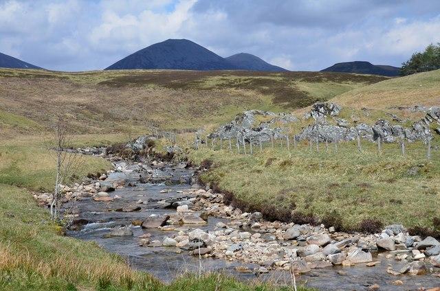 Allt Girnaig upstream