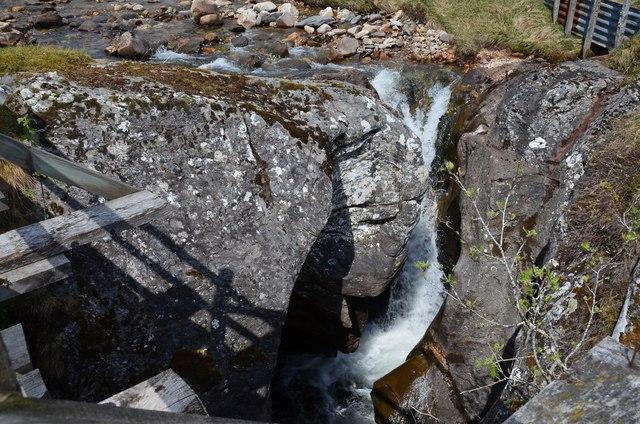 Falls on the Allt Girnaig
