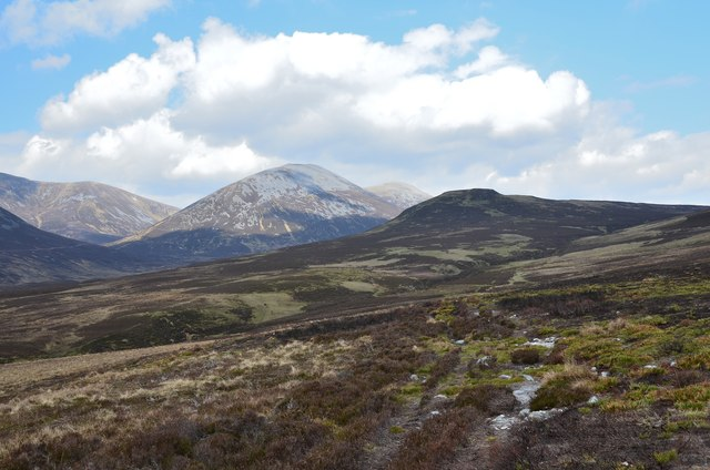 Path below Meall Breac