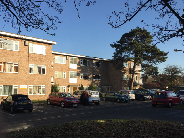 St John's Court flats, Weston Close, Warwick