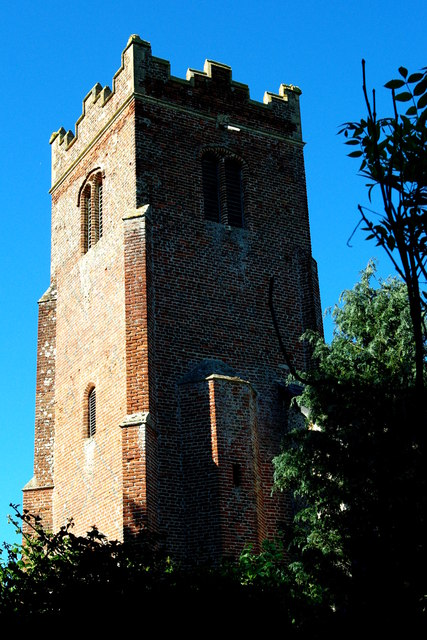 St Peter's tower from south-west